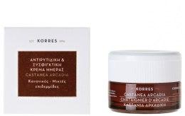 Kup Ujędrniający krem przeciwzmarszczkowy krem na dzień - Korres Castanea Arcadia Antiwrinkle&Firming Day Cream For Dry and Very Dry Skin