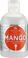 Kup Nawilżający szampon naprawczy z olejem z mango - Kallos Cosmetics Mango