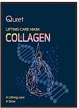 Kup Liftingująca maska kolagenowa do twarzy - Quret Lifting Care Mask Collagen