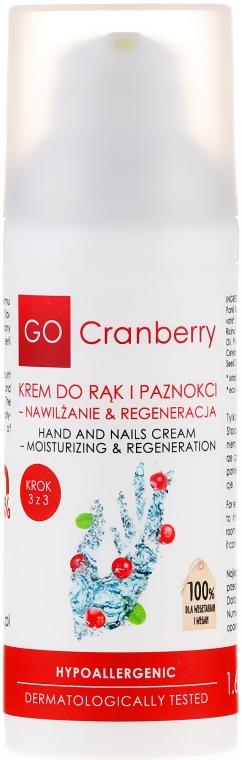 Krem do rąk i paznokci Nawilżanie i regeneracja - GoCranberry — фото N2