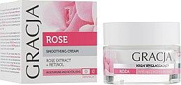 Kup Wygładzający krem do twarzy Róża - Gracja
