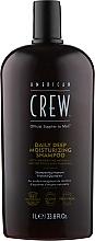 Kup Nawilżający szampon do włosów - American Crew Daily Deep Moisturizing Shampoo