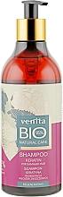 Kup Bioszampon keratynowy Regeneracja zniszczonych włosów - Venita Bio Natural Care Keratin Shampoo