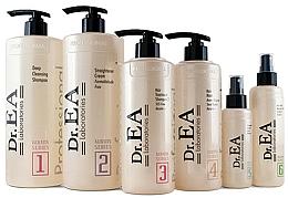 Kup Zestaw - Dr.EA Keratin Hair Care Set (hair/cr/1000ml+shm/1000ml+shm/500ml+mask/500ml+serum/130ml+milk/220ml)