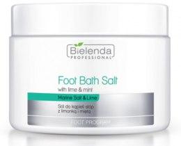 Kup Sól do kąpieli stóp z limonką i miętą - Bielenda Professional Foot Bath Salt With Lime & Mint