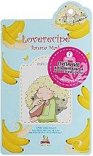 Kup Odżywcza maska do twarzy w płachcie z ekstraktem z banana - Sally`S Box Loverecipe Banana Mask