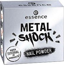 Metaliczny puder do paznokci - Essence Metal Shock Rainbow Nail Powder — фото N2