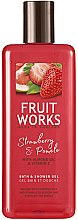 Kup Żel do kąpieli i pod prysznic Truskawka i pomelo - Grace Cole Fruit Works Hand Wash Strawberry & Pomelo