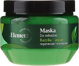 Maska zapobiegająca wypadaniu włosów - _Element Basil Strengthening Anti-Hair Loss Mask — фото N3