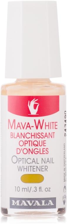 Optyczne ujędrniający żel do paznokci - Mavala Mava-White Optical Nail Whitener — фото N1