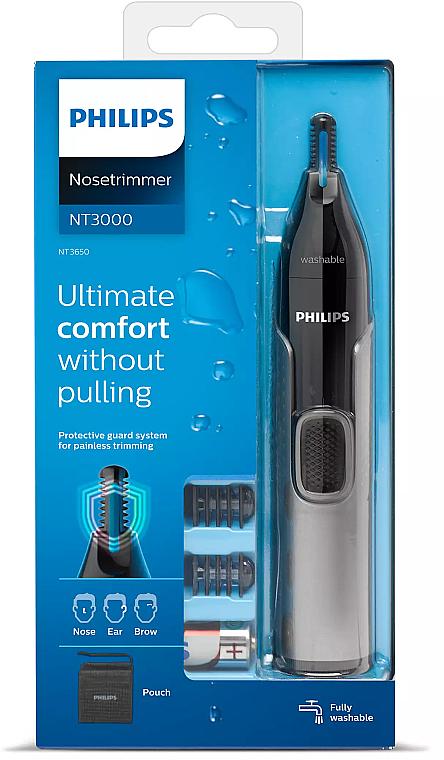 Trymer do brwi, nosa i uszu - Philips 3000 — фото N1
