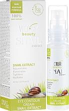 Kup Przeciwzmarszczkowy krem do okolic oczu z ekstraktem ze śluzu ślimaka - Victoria Beauty Snail Eye Contour Cream