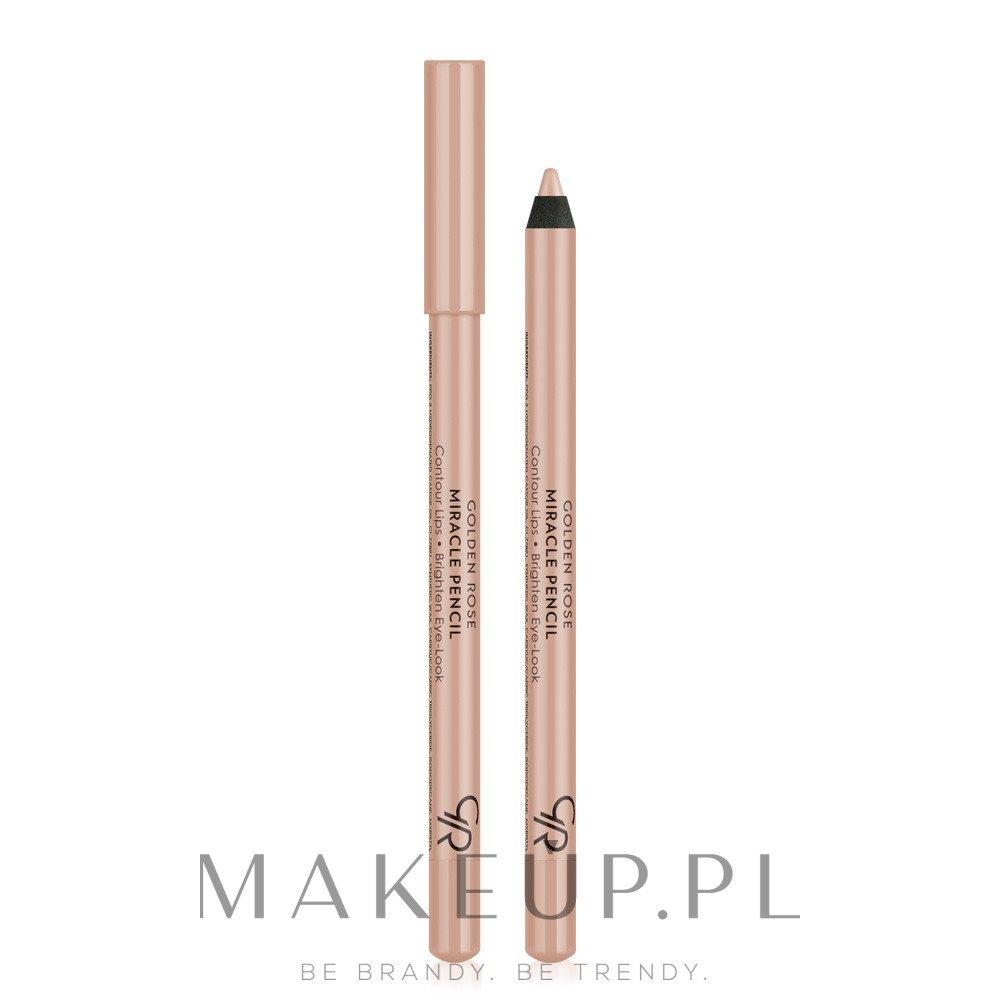 Wielofunkcyjna kredka do oczu i ust - Golden Rose Miracle Pencil — фото Fresh Colored