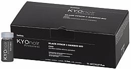 Kup PRZECENA! Balsam w ampułkach do włosów Czarnuszka i bambus - Kyo Noir Lotion Ampullen *