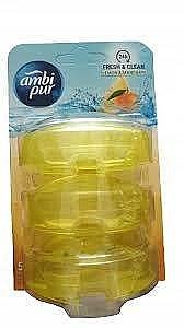 Kostki do WC - Ambi Pur Lemon & Mandarin — фото N1
