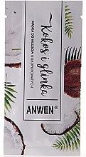 Kup Maska do włosów niskoporowatych Kokos i glinka - Anwen (próbka)