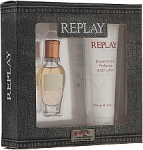 Kup Replay Jeans Original for Her - Zestaw (edt/20ml + b/lot/100ml)