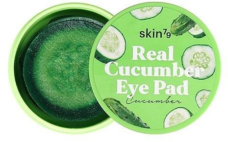 Nawilżające ogórkowe płatki pod oczy - Skin79 Real Cucumber Eye Pad — фото N1