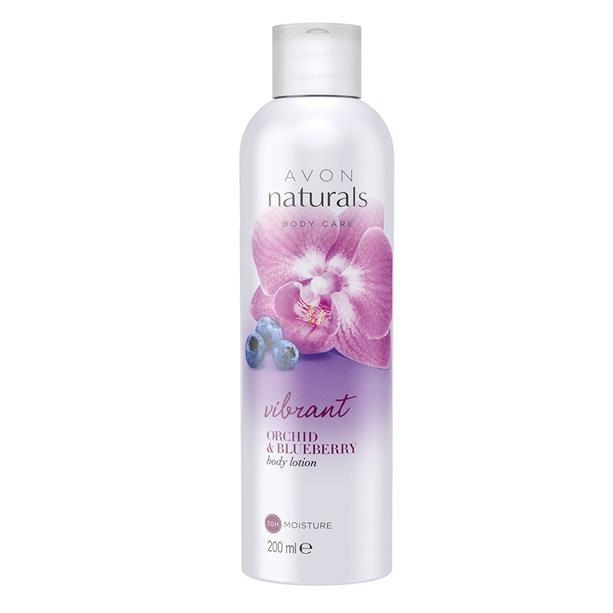 Balsam do ciała Jagoda i orchidea - Avon Naturals Vibrant Orchid & Blueberry — фото N1