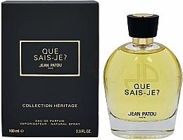 Kup Jean Patou Collection Heritage Que Sais-Je? - Woda perfumowana
