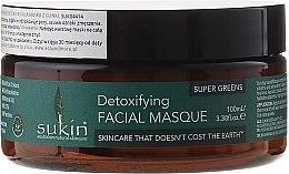 Kup Detoksykująca maska do twarzy z glinką - Sukin Super Greens Detoxifying Clay Masque