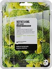 Kup Maska na tkaninie do twarzy Brokuł - Superfood For Skin Refreshing Sheet Mask
