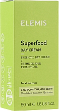 Kup Nawilżający krem do twarzy na dzień Imbir, matcha i jagody goji - Elemis Superfood Day Cream
