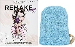 Kup Turkusowa rękawiczka do demakijażu ReMake (15 x 12 cm) - Makeup
