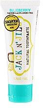 Kup Pasta do zębów dla dzieci Borówka - Jack N' Jill Natural Toothpaste Blueberry
