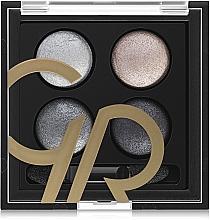 Paletka cieni do powiek do aplikacji na mokro i sucho - Golden Rose Wet & Dry Eyeshadow — фото N2