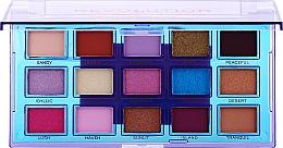 Kup Paletka cieni do powiek - Makeup Revolution Reflective Eyeshadow Palette Ultra Violet