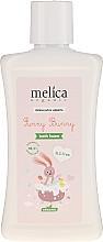 Kup Pianka do kąpieli dla niemowląt - Melica Organic Funny Bunny Bath Foam