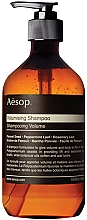 Kup Szampon zwiększający objętość włosów - Aesop Volumising Shampoo
