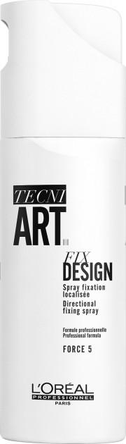 Precyzyjny spray do utrwalania miejscowego - L'Oreal Professionnel Tecni-Art Fix Design Spray