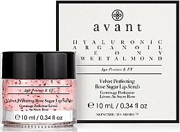 Kup Różany peeling cukrowy do ust - Avant Velvet Perfecting Rose Sugar Lip Scrub