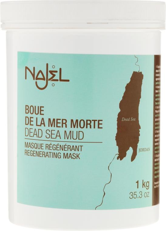 Regenerujące błoto z Morza Martwego - Najel Dead Sea Mud Regenerating Mask — фото N3