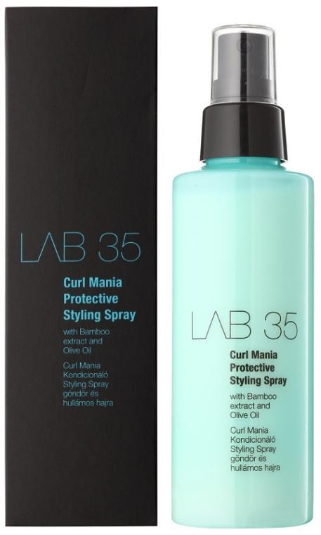 Spray stylizujący do włosów kręconych - Kallos Cosmetics Lab 35 Curl Mania Spray