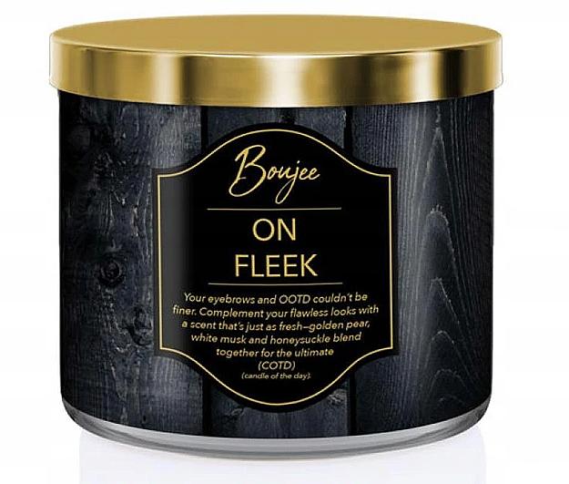 Kringle Candle Boujee On Fleek - Świeca zapachowa — фото N1