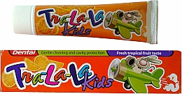 """Kup Pasta do zębów """"Owoce tropikalne"""" - Dental Tra-La-La Kids Tropical Fruit Toothpaste"""