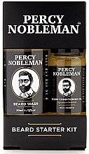 Kup Zestaw - Percy Nobleman Beard Starter Kit (beard/shm/30ml + beard/oil/10ml)