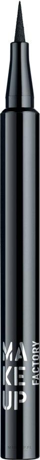 Płynny eyeliner w pisaku - Make Up Factory Full Precision Liquid Liner — фото 01 - Black