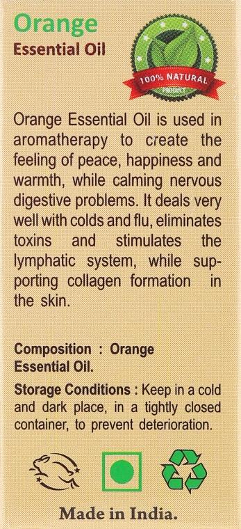 Olejek pomarańczowy - Sattva Ayurveda Aromatherapy Orange Essential Oil — фото N3