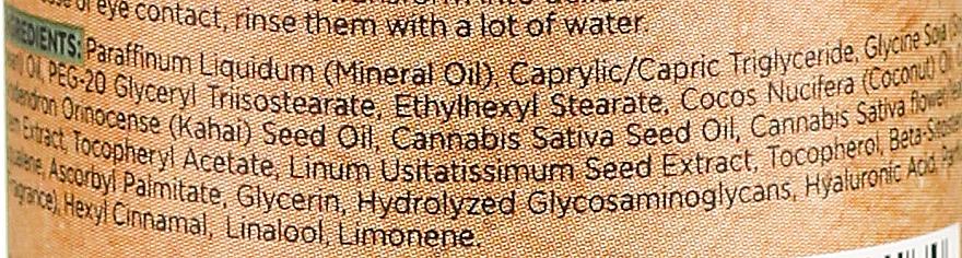 Nawilżająco-kojący olejek do mycia twarzy CBD z konopi siewnych - Bielenda CBD Cannabidiol Oil — фото N3