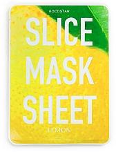 Kup Maska na tkaninie do twarzy Cytryna - Kocostar Slice Mask Sheet Lemon