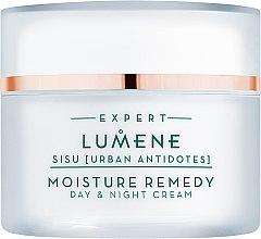Detoksykujący krem na dzień i na noc - Lumene Sisu [Urban Antidotes] Moisture Remedy Day & Night Cream — фото N2
