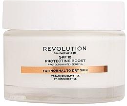 Kup Krem do skóry suchej i normalnej - Revolution Skincare Moisturizing Cream SPF15