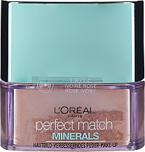 Kup Mineralny puder do twarzy - L'Oreal Paris Perfect Match Minerals Make-Up Powder