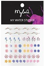 Kup Naklejki na paznokcie w kwiatowe wzory - MylaQ My My Flower Sticker