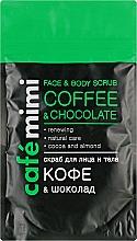 Kup Peeling do twarzy i ciała Kawa i czekolada - Cafe Mimi Scrub