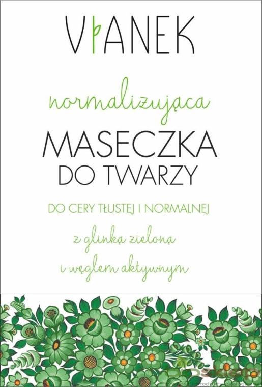 Normalizująca maseczka do twarzy - Vianek Seria zielona energetyzująca — фото N1